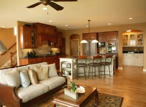 Open Floor Plan Kitchen by Open Kitchen Floor Plans