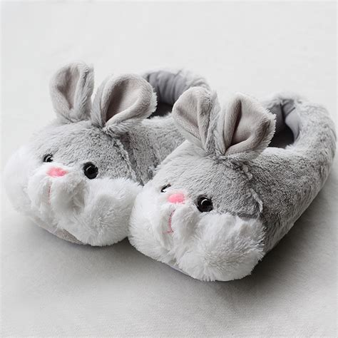 lapin house shoes achetez en gros fur animal slippers en ligne 224 des grossistes fur animal slippers