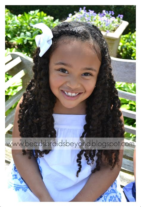 natural hairstyles for 11 year olds beads braids and beyond little girls natural hairstyles