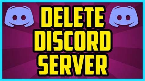 discord quick delete how to delete a server on discord 2017 quick easy