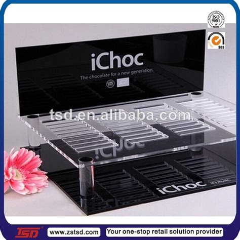 Custom Acrylic Make Up Box tsd a992 factory custom acrylic cosmetic tabletop display stand plastic counter display stand