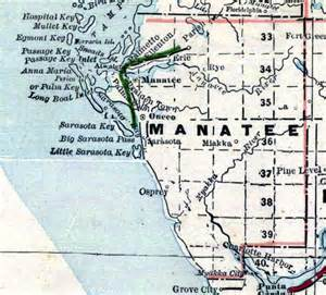 map of manatee county florida 1890s