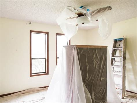 Popcorn Ceiling Why by How To Remove A Popcorn Ceiling How Tos Diy