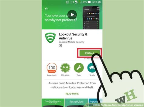virus scan android how to scan android apps for viruses with pictures