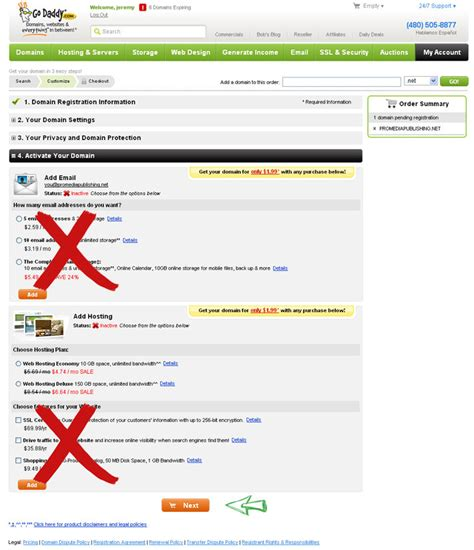 register    domain pro media publishing