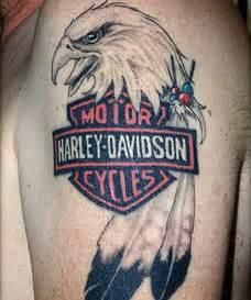 30 oustanding harley davidson tattoos creativefan