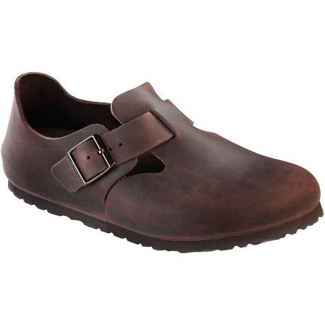 birkenstock closed toe sandals birkenstock shoe leather habana 166531