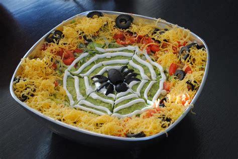 spooky spiders nest  layer  dip mel  boys kitchen