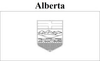 geography blog alberta flag coloring page