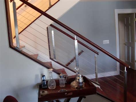 interior cable railing  norwalk ct riverside fence