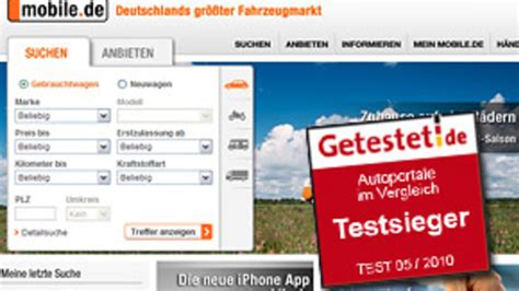 autoscout24 mobile de bestnoten f 252 r mobile de und autoscout24 autohaus de