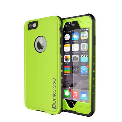 is iphone 6 waterproof punkcase 174 iphone 6s plus 6 plus waterproof green thin fit underwater 6 6ft