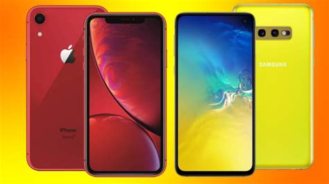 galaxy s10e vs iphone xr how do these affordable flagships compare technology news