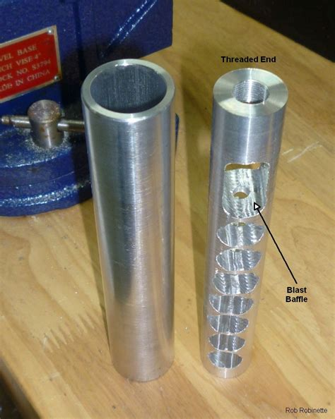 how to make a silencer for a 22 long rifle image gallery homemade 308 suppressor