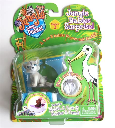 In My Pocket by Jungle In My Pocket Seri 3 Lagoric Hobby Toys