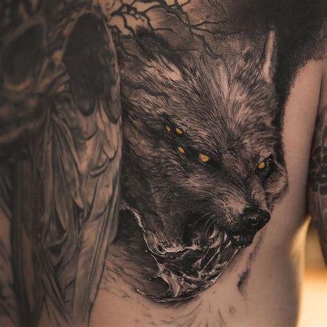fenrir tattoo 15 best fenrir designs and ideas