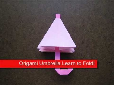 How To Make A Origami Umbrella - origami origami umbrella