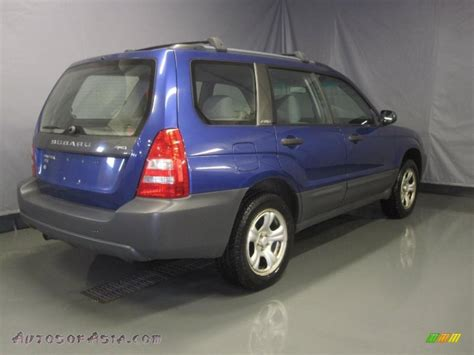 blue subaru forester 2003 2003 subaru forester 2 5 x in pacifica blue metallic photo