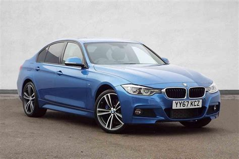 used bmw 3 series used 2017 bmw 3 series 320d xdrive m sport 4dr step auto
