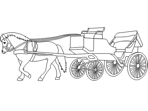 coloring pages horse and carriage 84 coloring pages of horse and buggy horse and
