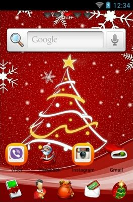 christmas themes for go launcher merry christmas android theme for go launcher