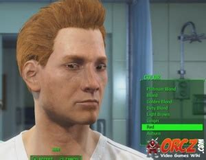 fallout 4 hair color fallout 4 hair color red orcz com the video games wiki