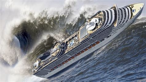 ship video 18 crazy videos of cruise ships caught in massive storms