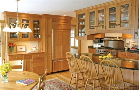 Kitchen Peninsula Cabinets Pictures Of Kitchens Traditional Light Wood Kitchen Cabinets Page 4