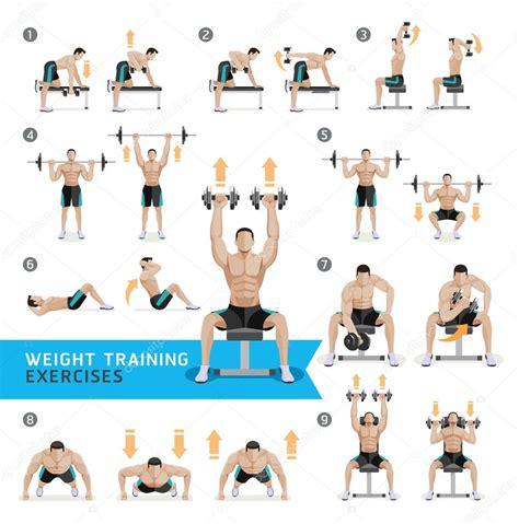 ejercicios mancuernas en casa ejercicios con mancuernas y ejercicios peso entrenamiento