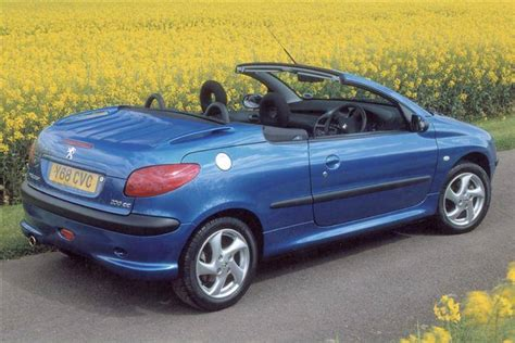 peugeot 206 convertible peugeot 206 coupe cabriolet 2000 2007 used car review