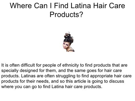 were in cincinnati can i find hair to do latchhook styles where can i find latina hair care products