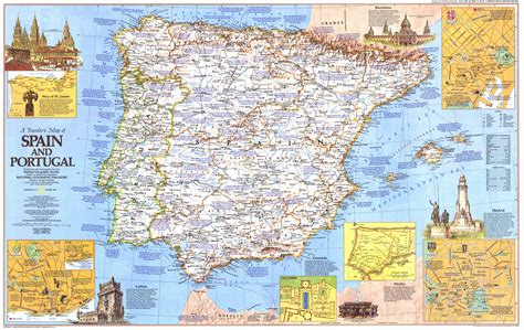 spain and portugal map nationalgeographic maps on reddit