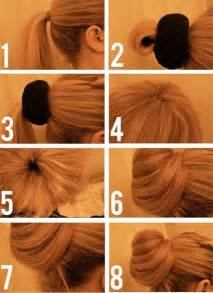 how to do a bun with hair 4 bun styles