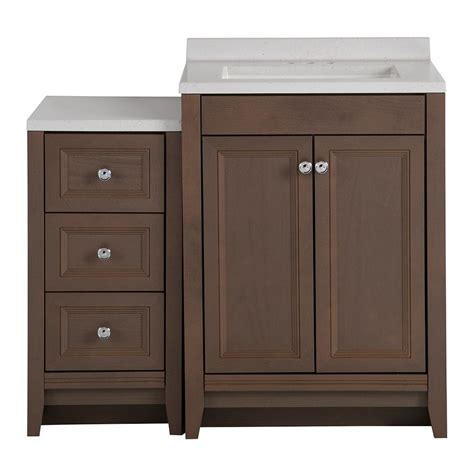 glacier bay bathroom glacier bay delridge bath suite with 24 5 in vanity