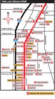 Map To Las Vegas by Las Vegas Strip Map 2011 Pdf