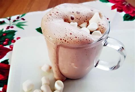frozen hot chocolate vitamix game on mom