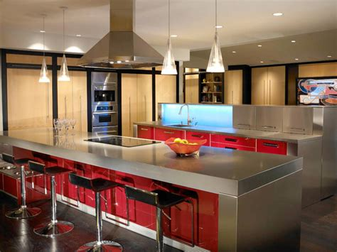 Kitchens With Stainless Steel Countertops by Stainless Steel Countertops Pictures Ideas From Hgtv Hgtv