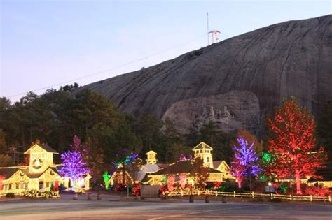 our map brochure and parking ticket at stone mountain park