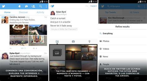 imagenes guardadas twitter android twitter versi 243 n android im 225 genes y fotos