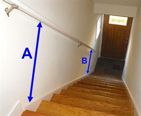 height of banister on stairs stair handrails and the minimum standards of the building codes charles buell
