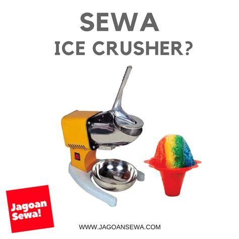Mesin Serut Es Crusher Blade 1 jagoan sewa jasa sewa harian mingguan bulanan freezer