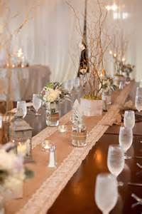 Burlap Wedding Decorations For Sale Rustic Wedding Burlap And Lace Table Runners With By
