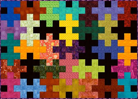 Jigsaw Puzzle Quilt Pattern by Easy Jigsaw Puzzle Quilt Pattern