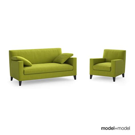 Ligne Roset Furniture by Ligne Roset Citta Sofa And Armchair Free 3d Model Max Obj