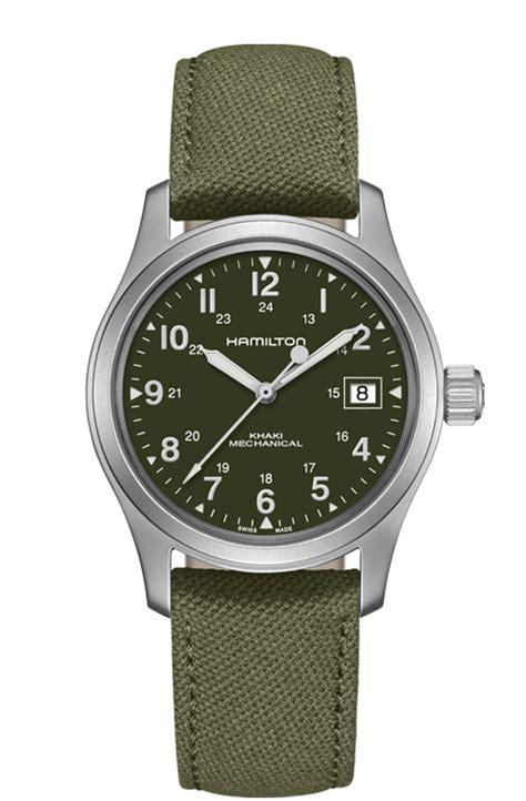 best hamilton watches officer mechanical khaki field mens hamilton watches