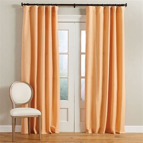 ballard designs drapes linen blend drapery panel ballard designs