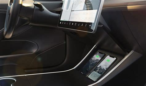 nomad debuts  tesla wireless charger   fit model  vehicles macrumors