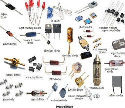 report on different types of diodes what is diode its types engineering prayog