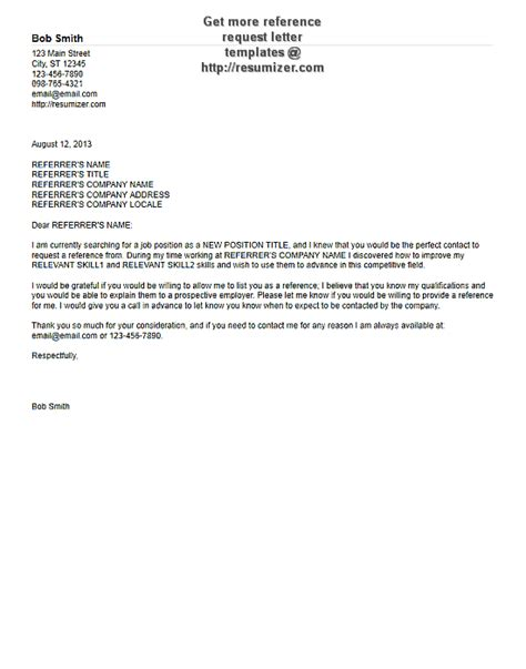 International Trade Credit Letter Free Reference Request Letter Sles 2