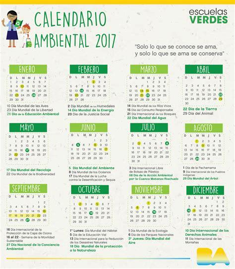 Calendario Escolar 2018 Buenos Aires Calendario Ambiental 2017 Noticias Buenos Aires Ciudad